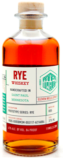 11 Wells Rye Whiskey 750ml